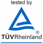 Tested by TUV logo